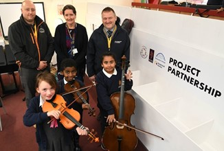 Working In Harmony With Local Business To Provide Music Storage For School Children