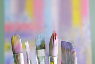 Shallow Focus Photo Of Paint Brushes 1646953