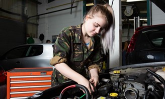 Newcastle College Automotive 2